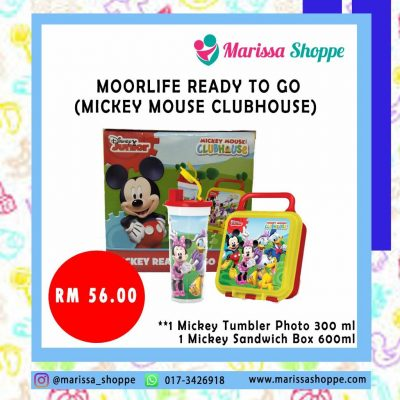 Moorlife Ready To Go  Mickey Mouse