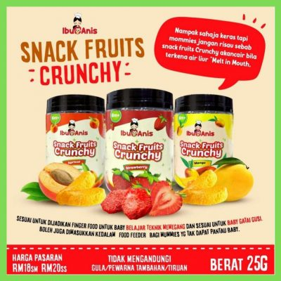 ibu anis snacks fruits